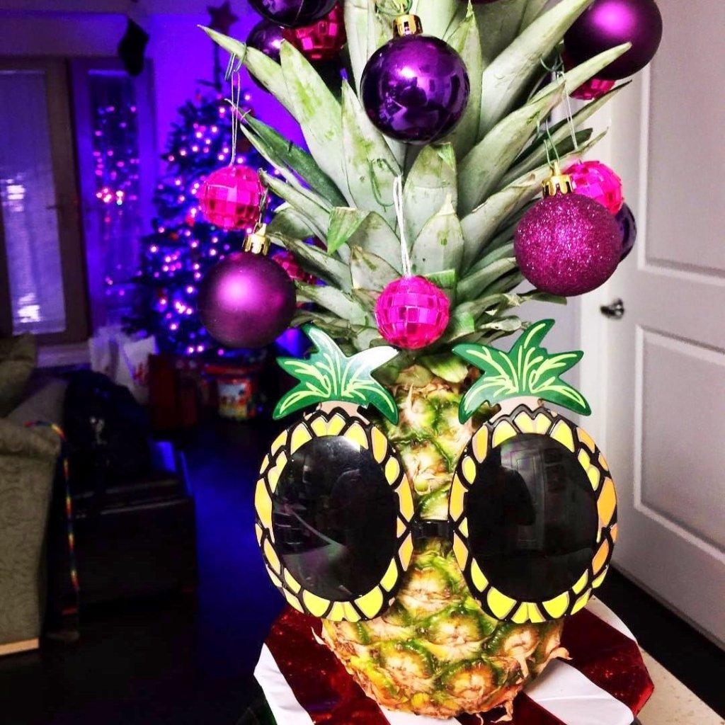 sunglasses pineapple tree