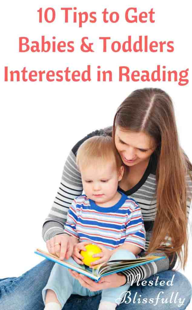 mom reading a book to child who hates reading.