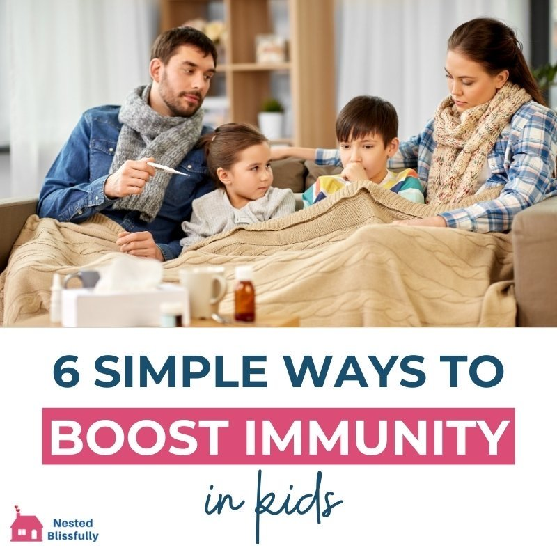 simple steps to boost immunity for kids