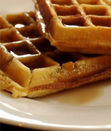 krumkake waffles