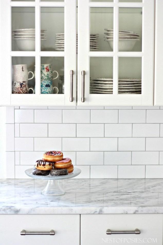 Subway Tile Backsplash Installation