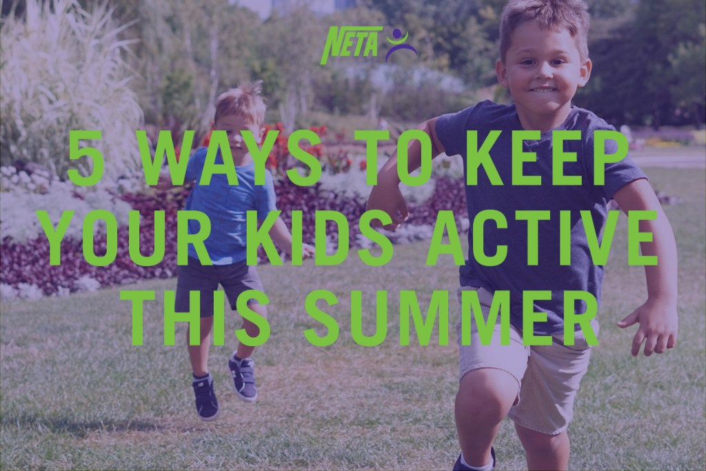 5 ways to keep your kids active