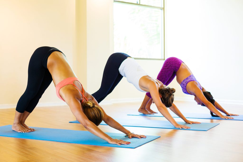fitness yoga class