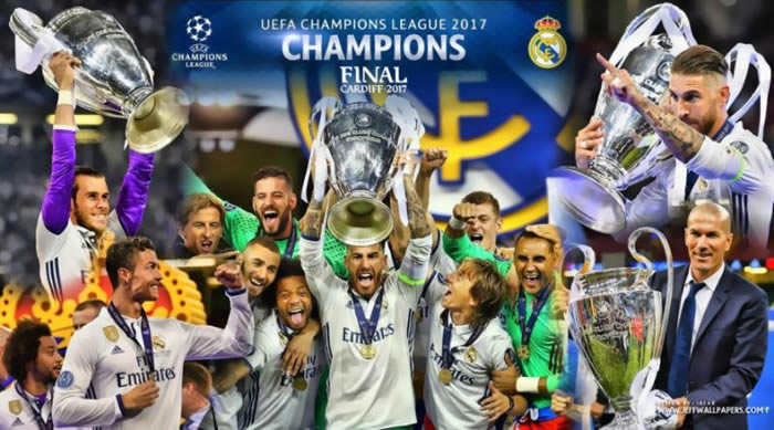 real madrid campeon 12 copa europa 2017