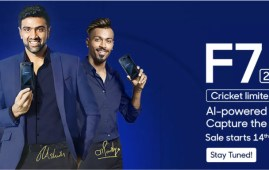 OPPO F7 Cricket Limited Edition