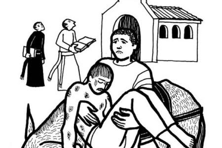 Free Download Coloring Wallpaper » the good samaritan coloring pages