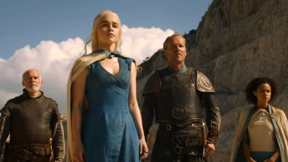 Cast of Game of Thrones'emotional' as they head for finale