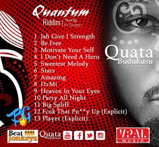 """VP records to distribute """"Quantum Riddim"""" Album by Quata Budukusu"""