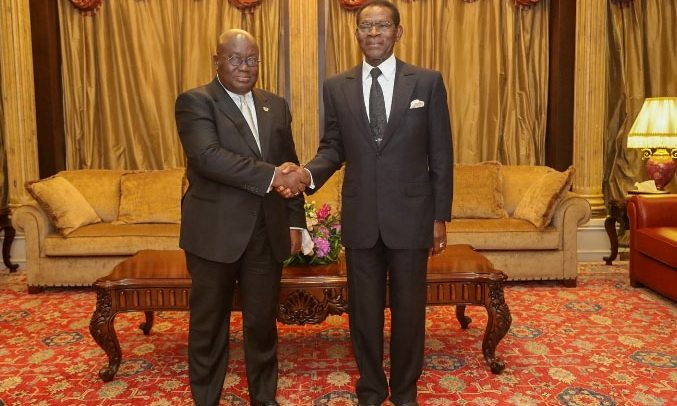 Nana Addo Secures 15-Year Gas Deal From Equatorial Guinea