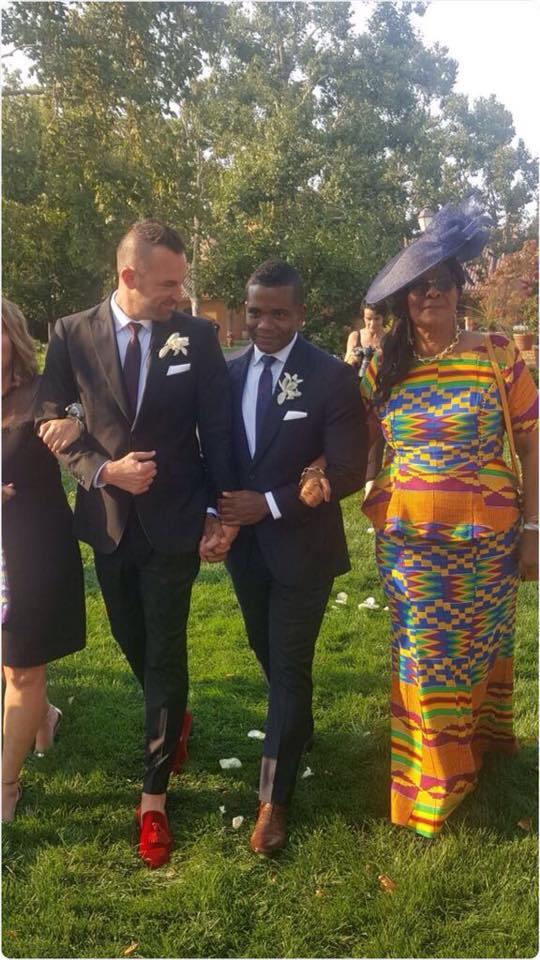 Ex Achimota School Prefect Marries White Gay Partner in America