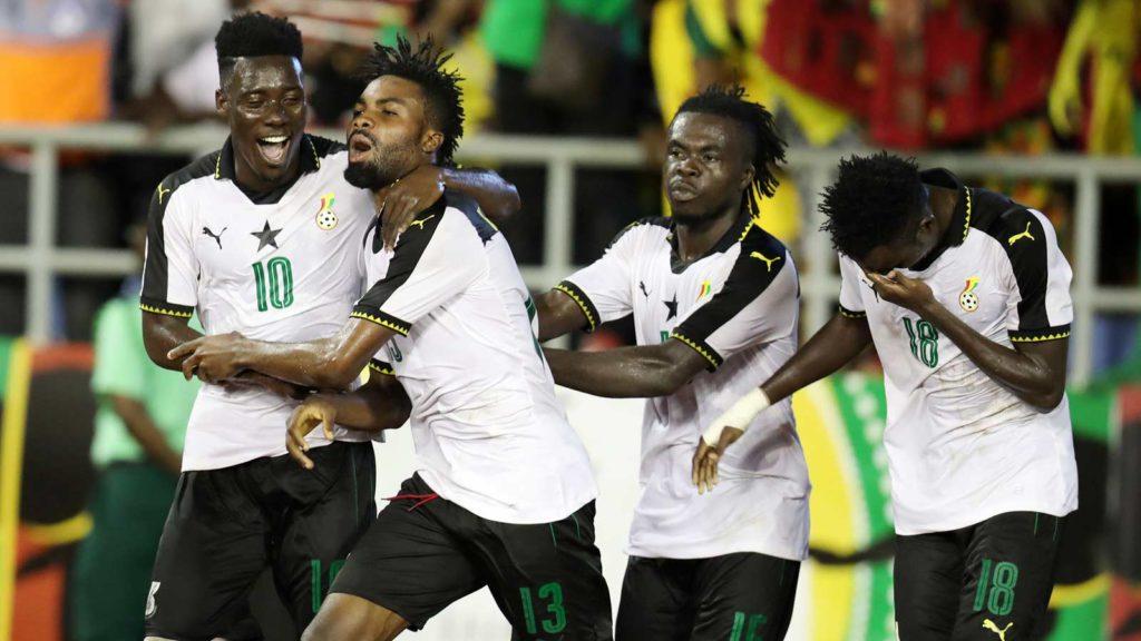 Ghana beat Nigeria 4-1 to grab 2017 WAFU tournament trophy