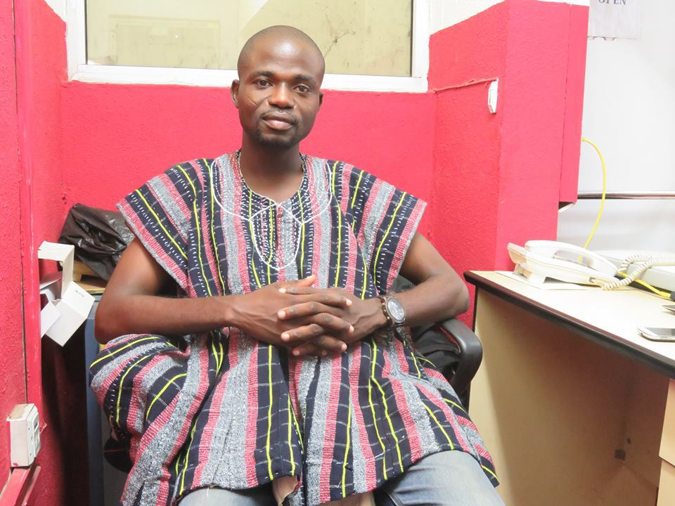 Manasseh Azure Awuni involved in an accident