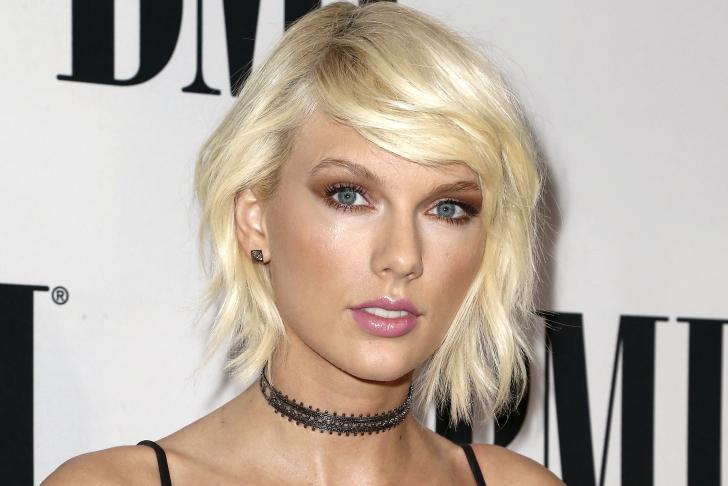 Taylor Swift lyrics used on US road Overhead signs