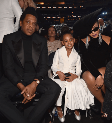 Blue Ivy rocks $2,675 Valentino Rockstud Clutch at 2018 Grammys