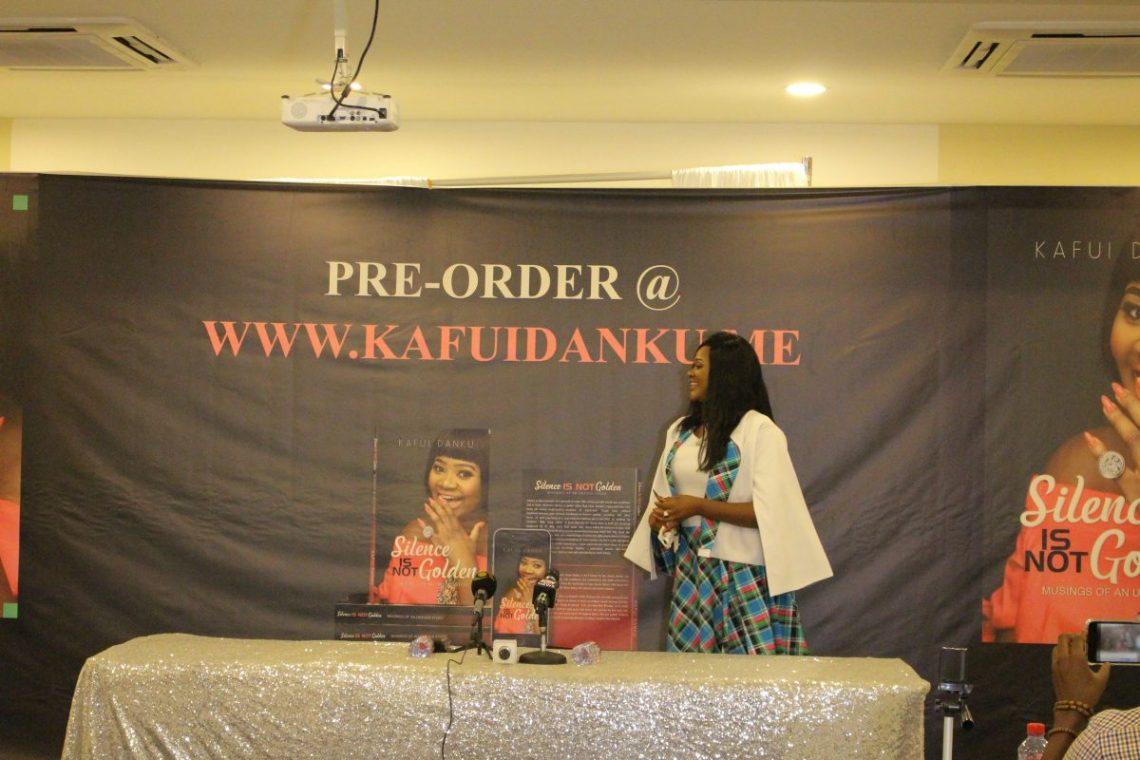 Healing with words: Kafui Danku's book''Silence Is Not Golden'' announced