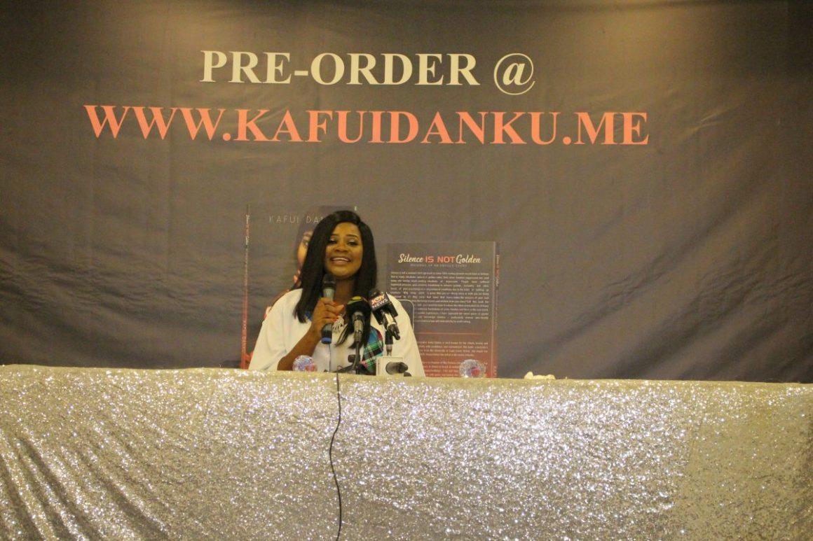 Healing with words: Kafui Danku's book ''Silence Is Not Golden'' announced