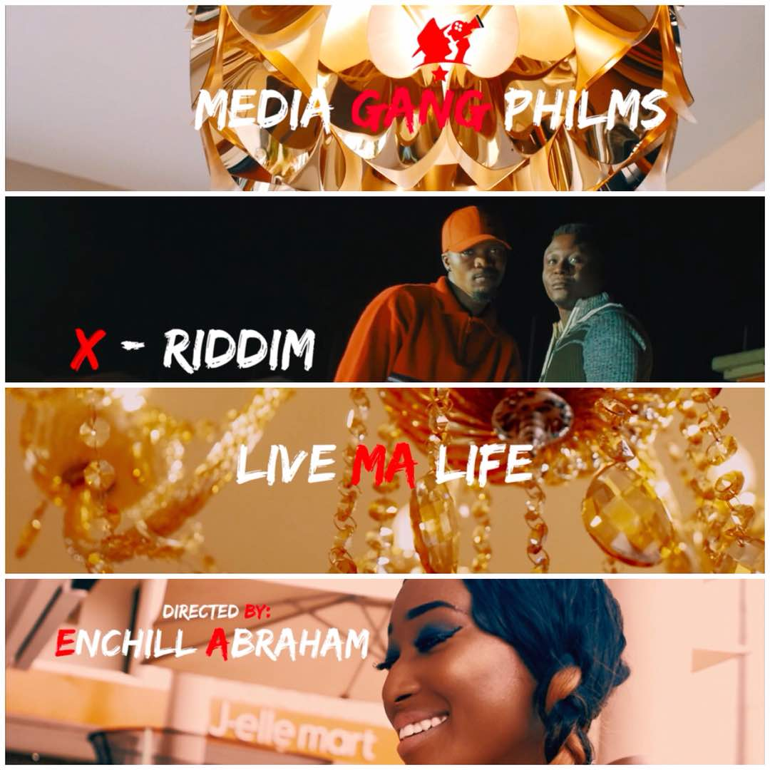 Xriddim shoots music video for 'Live My Life' (BTS Photos)