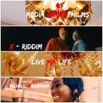Xriddim shoots music video for 'Live My Life' (BTS Photos)