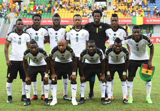 Ghana drops from 50th to 54th in latest FIFA rankings