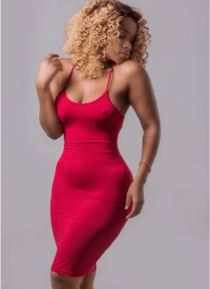 Benedicta Gafah seduce fans with her nipple showing in new photo