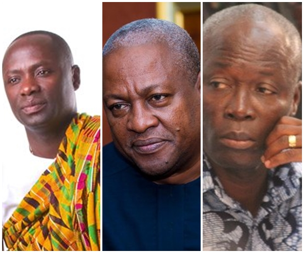 22 Ministers under Mahama's Administration in double salary scandal
