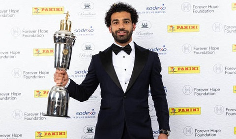 CAF President congratulates Salah for PFA honour