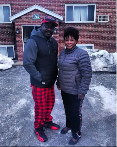 Photos: Kyeiwaa toning her body with good life in US