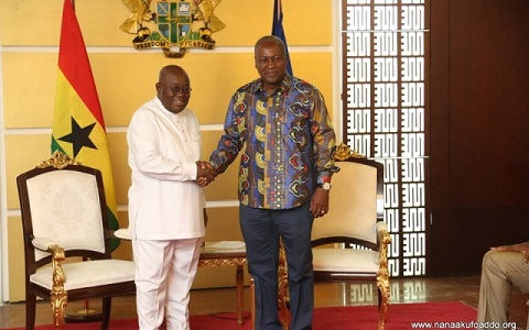 Mahama reacts to Akufo-Addo's'ghost' projects claims