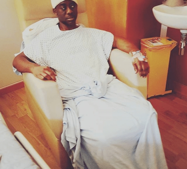 DJ Abrantee discharged to continue his rehabilitation from home