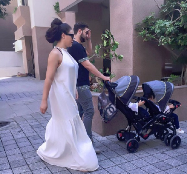 Nadia Buari celebrates her 4 girls and husband of 10 years on father's day
