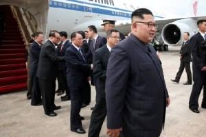 US-North Korea Summit- Kim Jong-un arrives in Singapore