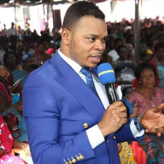 Watch how Bishop Obinim turned a stone into gold in church
