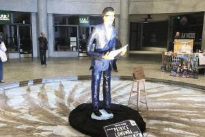 Belgium names square after Congo independence hero Lumumba