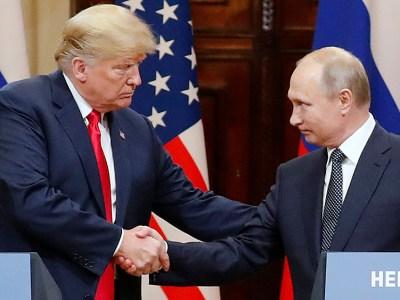 Russia US Summit in Helsinki, Finland – 16 Jul 2018