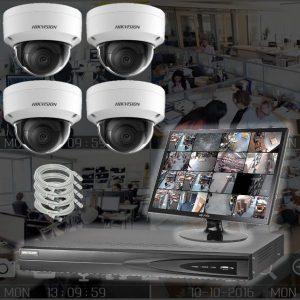 Netcam 8 megapixel dome