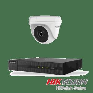 Netcam Hikvision 2MP Overvåkningskamera system DVR-opptaker