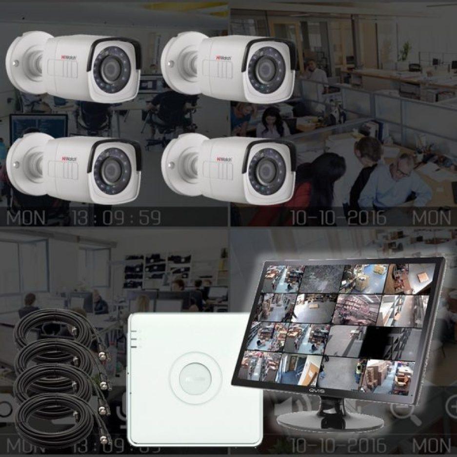 Netcam HD dome-pakke