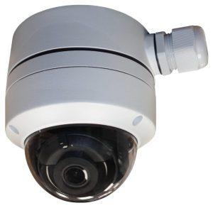 Netcam Hikvision domekamera med koblingsboks