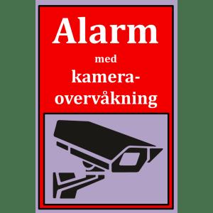 Netcam kameraskilt SKI-VIN-A5-ROD