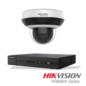 Netcam Hikvision pakke med 1 kamera 4 megapixel styrbart zoom