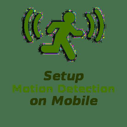 NetCamPro Setup Motion Detection On Mobile