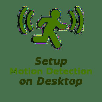 NetCamPro Setup Motion Detection On Desktop