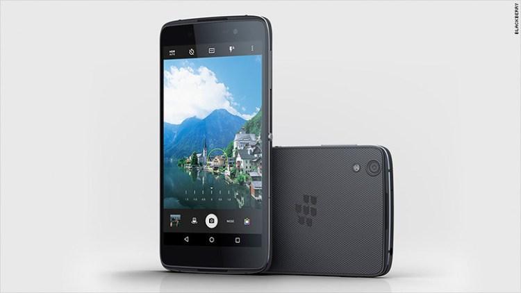 Nuevo móvil de BlackBerry con Android es 'el más seguro del mundo'