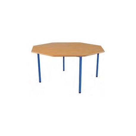 table octogonale pour maternelle noa table pour ecole maternelle table pour classe maternelle