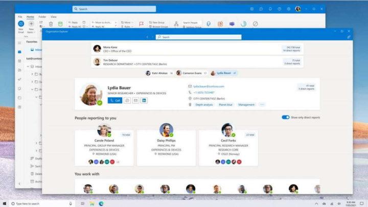 Imágenes de correo electrónico de Outlook Windows 10