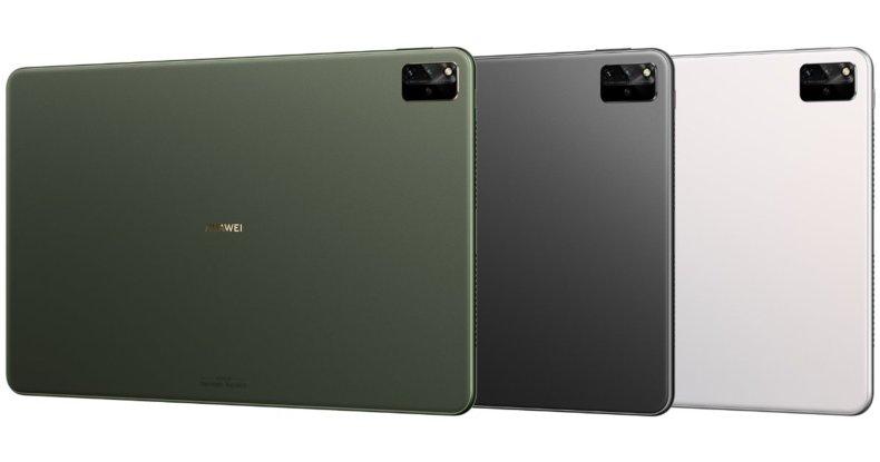 Huawei MatePad Pro en tres colores