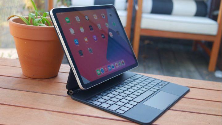 Ilustración de iPad inalámbrico