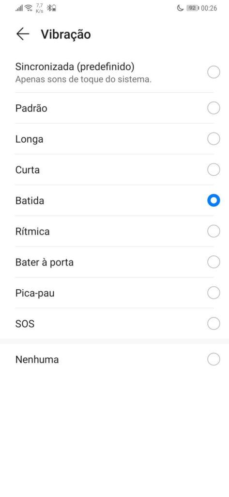 notificaciones sonido vibración smartphone android