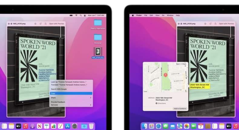 Algunas de las mejores características de macOS Monterey no funcionarán