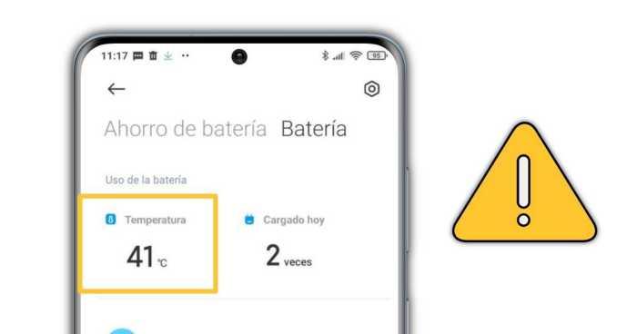 Conoce la temperatura de la batería del móvil Xiaomi
